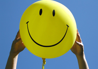 Smiling balloon